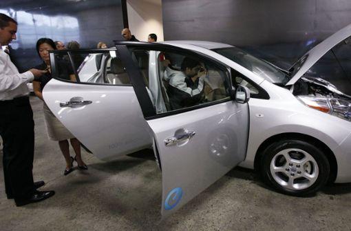 Nissan setzt auf Autos mit Elektroantrieb