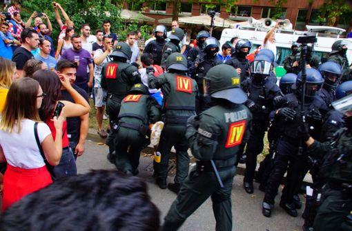 Mehrere Festnahmen bei Feiern kroatischer Fans