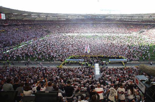 Der schwäbische Fußball-Tempel im Wandel der Zeit