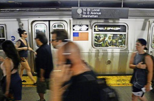 Ungeliebt: New Yorks U-Bahn Foto: dpa
