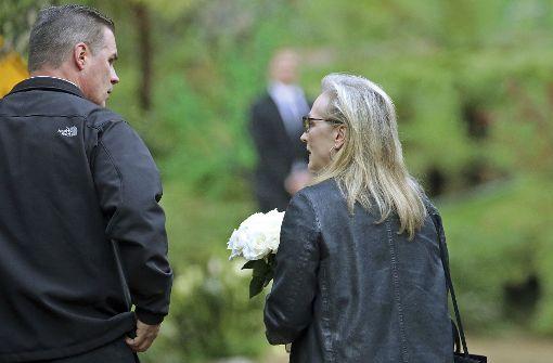 Trauerfeier für Debbie Reynolds und Carrie Fisher