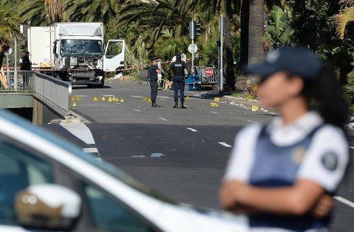 Nur ein Polizeiauto soll Promenade gesperrt haben