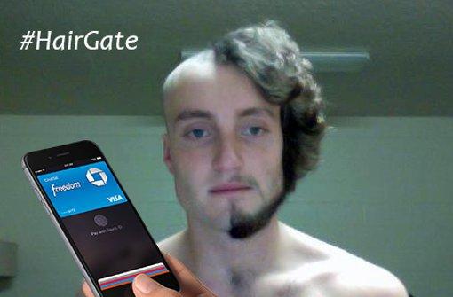 iPhone 6 reißt Haare aus