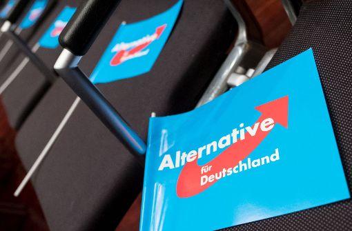 Von ehemals 14 Abgeordneten der AfD in Sachsen sind nur noch neun übrig. Foto: dpa