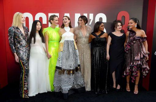 "Geballte Frauenpower bei ""Ocean's 8""-Premiere in New York"