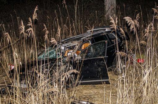 Bei dem Unfall hat sich der 39-jährige Fahrer schwer verletzt. Foto: SDMG