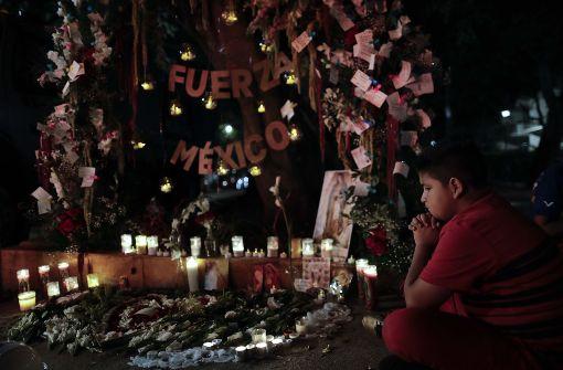 Die Zahl der Todesopfer durch das Erdbeben in Mexiko stieg inzwischen auf 324. Foto: AP
