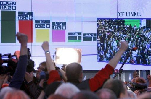 Am Sonntag aktuelle Wahlergebnisse bei der LKZ