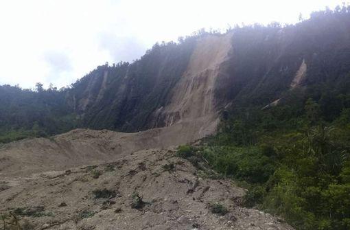 Mindestens 55 Tote nach Erdbeben