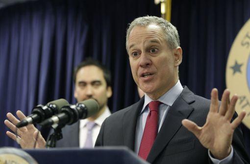 New Yorker Generalstaatsanwalt tritt zurück