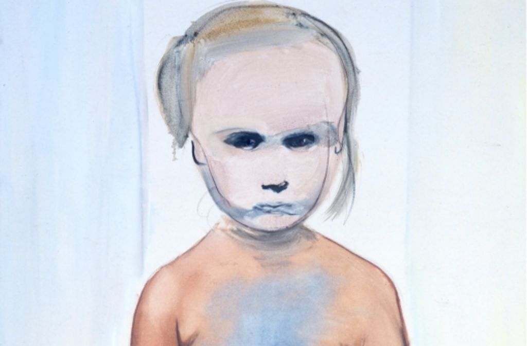 Marlene Dumas, The Painter, 1994 Foto: Fondation Beyele