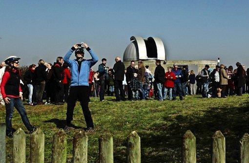 Sofi: Freie Sicht in der Sternwarte