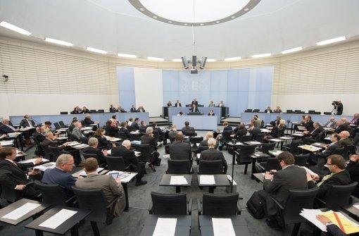 Im künftigen Landtag wird es enger: Foto: dpa