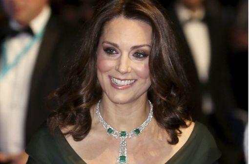 Kate Middleton muss Kritik für Kleid einstecken