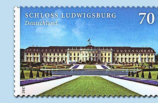 Das Ludwigsburger Schloss für 70 Cent