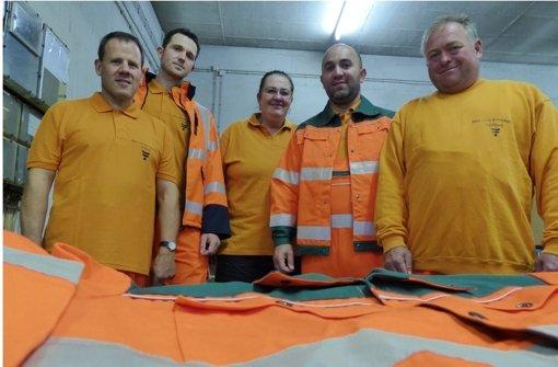 Faire Arbeitskleidung für das Bauhofteam