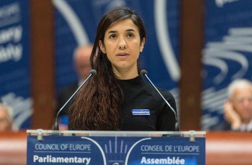Nadia Murad bekommt europäischen Menschenrechtspreis