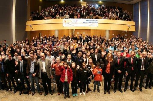 Die Sportkreisjugend Stuttgart ehrte in Kooperation mit dem Amt für Sport und Bewegung am Freitagnachmittag die jugendlichen Talente. Foto: Pressefoto Baumann