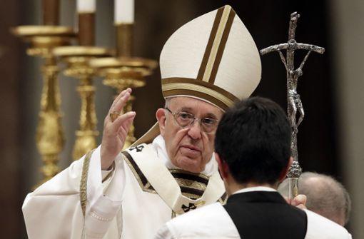 Papst ruft zu Mitgefühl für Verfolgte auf