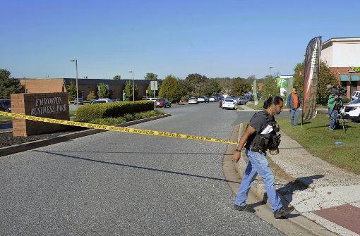 Mann erschießt drei Menschen in Maryland