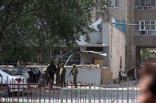 Fünf Tote durch Anschlag nahe der US-Botschaft in Kabul