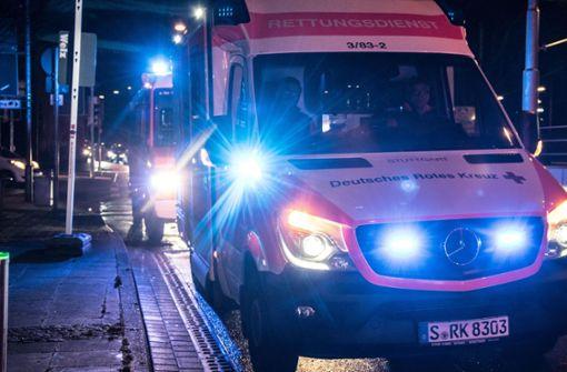 Auch der Rettungsdienst rückte an. Foto: 7aktuell.de/ Gruber