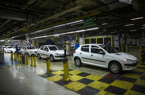 Autobauer PSA zieht sich aus dem Iran zurück