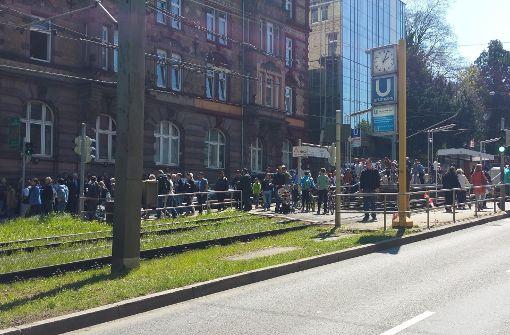 Stadtbahn-Verkehr für Stunden lahmgelegt