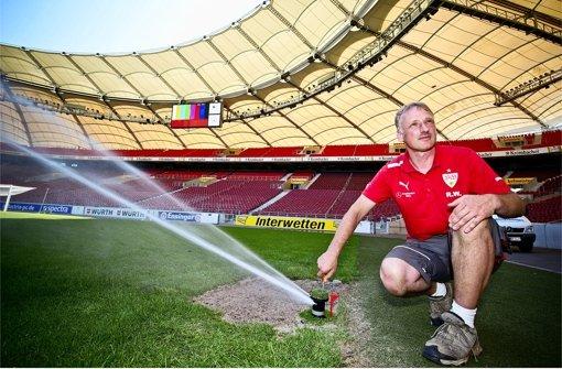 Der VfB-Rasen wächst auf Knopfdruck