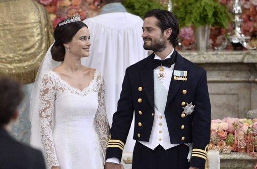 Sofia und Carl Philip von Schweden: Sofias Brautkleid - von Kate ...
