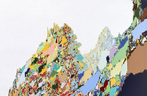 . .. . vertraut Litzkow kleinsten Pinselstrichen und sorgt  Foto: Galerie Schacher – Raum für Kunst