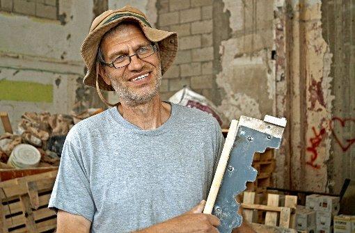 Schwäbischer Putzmeister restauriert die Weiße Stadt