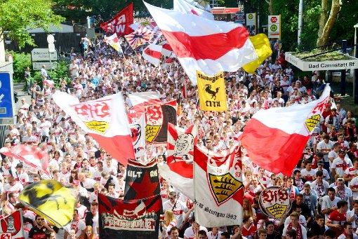 Zum ersten Heimspiel wird Cannstatt weiß-rot