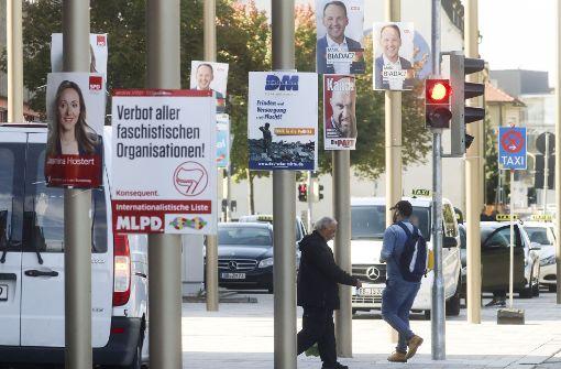 Wahlkampf: CDU betreibt  hohen Aufwand