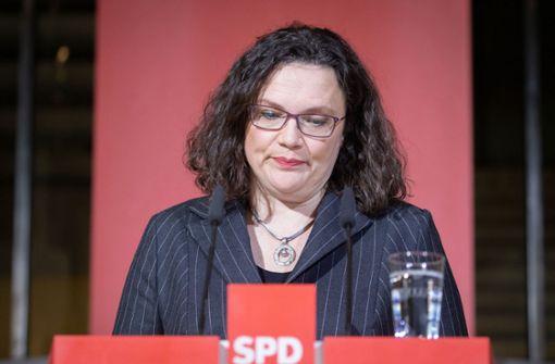 Die SPD-Granden wollen weiterregieren