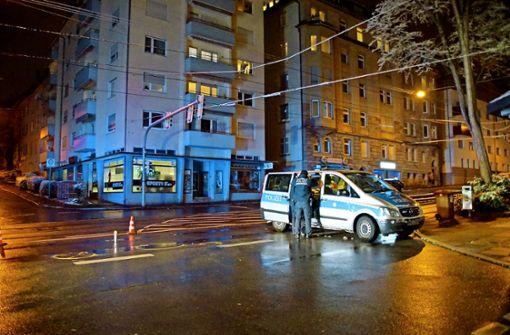 Fußgänger in der Stadt leben gefährlich