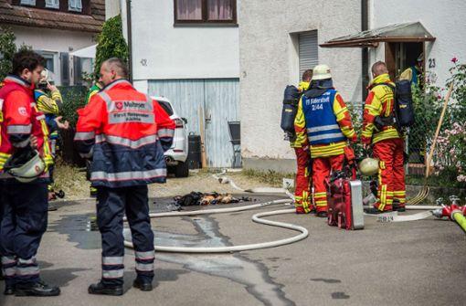 Bei dem Küchenbrand wurde der 79-jährige Bewohner verletzt. Foto: SDMG