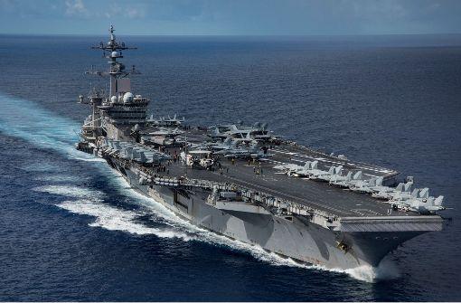 USA schicken Atom-U-Boot nach Südkorea