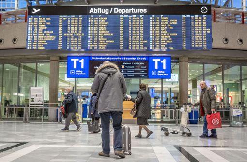 Fluggäste müssen auf andere Terminals ausweichen