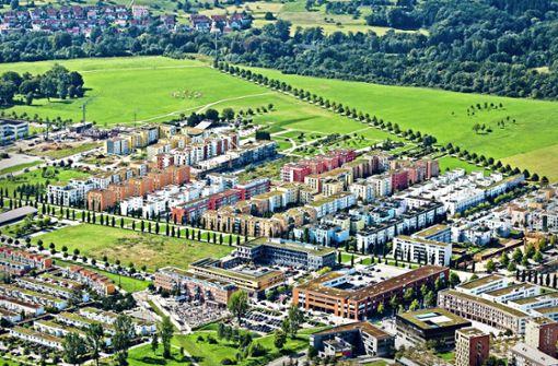 Ein junger Stadtteil auf   historischem Areal
