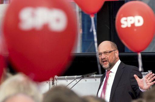 Mit Martin Schulz aus dem Tief