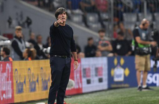 Für Bundestrainer Joachim Löw ist das Unentschieden gegen Weltmeister Frankreich ein gelungener Neuanfang. Foto: dpa