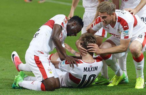 Der VfB Stuttgart hat mit dem 3:1-Sieg gegen Union Berlin eindrucksvoll unter Beweis gestellt, wohin die Reise am Ende der Saison gehen soll. Foto: Pressefoto Baumann