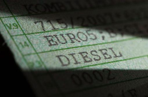 Grün-schwarzes Tauziehen um Fahrverbote für Diesel