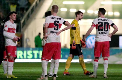 Der VfB ergibt sich seinem Schicksal
