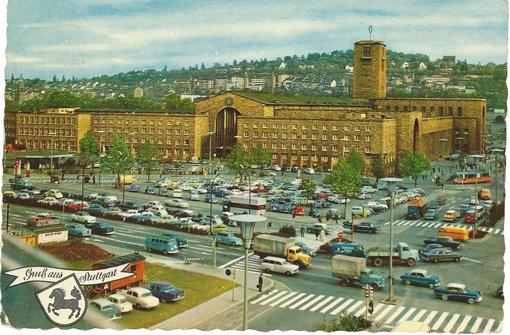 Der Bahnhof im Jahr 1964 Foto: Sammlung von Wibke Wiezorek