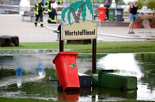 Weitere Schäden durch Starkregen