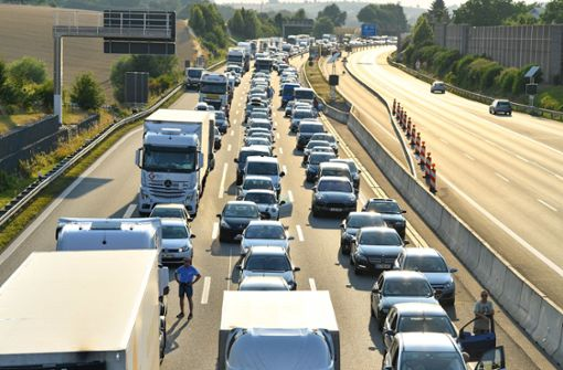 Tempolimit auf Autobahnen wegen Hitze