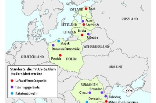 Die US-Präsenz an der Ostflanke wächst