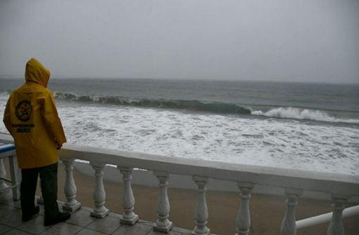 Gefährlicher Sturm dicht vor Mexiko
